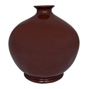 Vaso em Porcelana Vinho 35x34