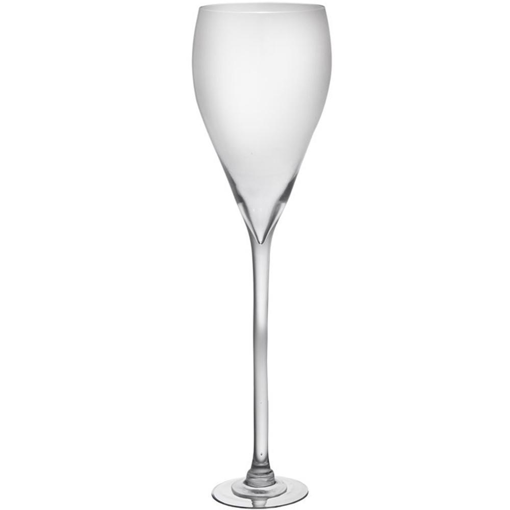 Vaso em Cristal Liso Com Alto Teor de Chumbo Telles