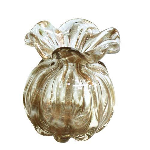 Murano Trouxinha Golden em Cristal cor Champanhe - L10xP10xA11cm