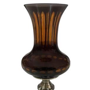 Vaso Decorativo Âmbar - 20x20x44cm