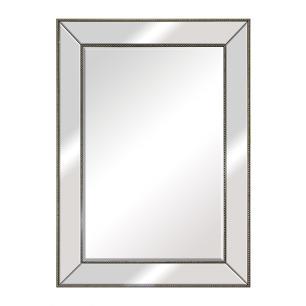 Espelho Retangular com Moldura Prata - 78x108cm