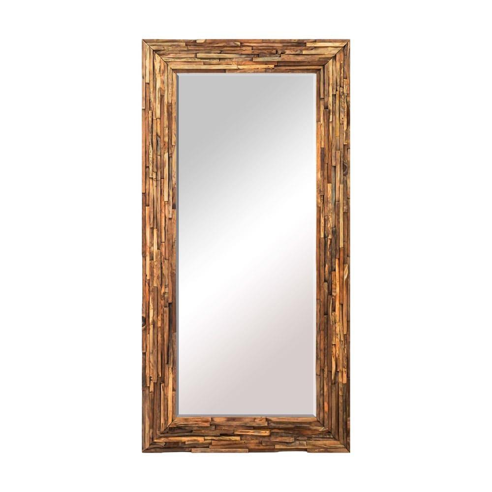 Espelho com Moldura em Madeira - 90x180cm