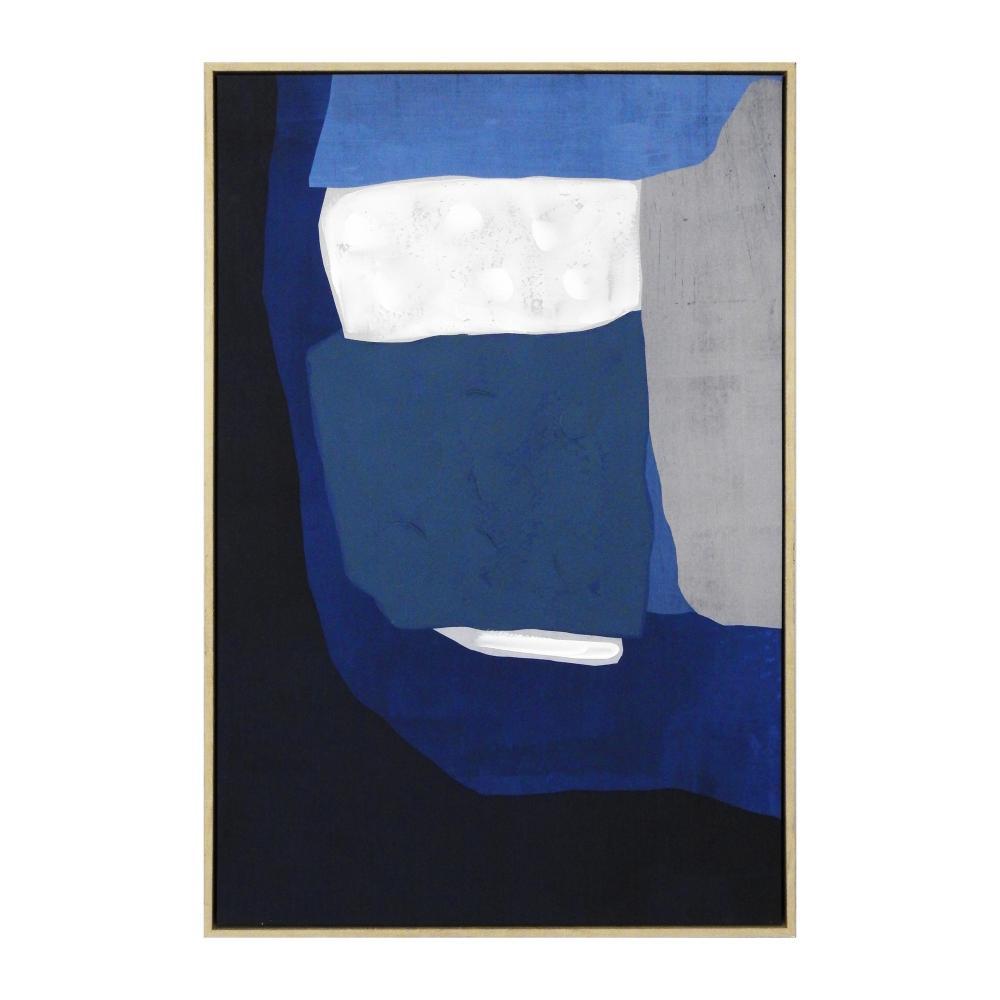 Quadro Decorativo com Pintura Abstrato - 63x93cm