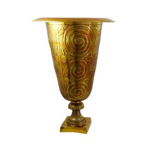 Vaso Decorativo em Alumínio - 75x51cm