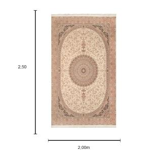 Tapete Iraniano Beluchi Medalhão - 250X200cm