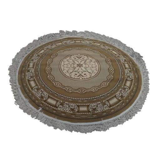 Tapete Persa Redondo Bege - 200x200cm