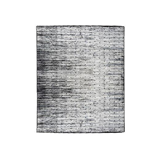 Tapete Ligno Preto com Branco - 68x110cm
