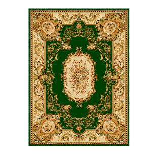 Tapete Persa com Franja Verde Claro - 160x235cm