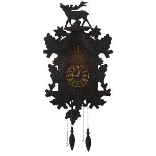 Relógio de Parede em Madeira com Pêndulo