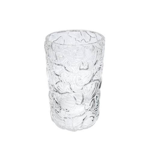 Vaso em Vidro Decorativo Translucido - 21x13cm