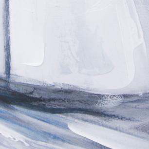 Quadro em Canvas Veleiros - 105x105cm