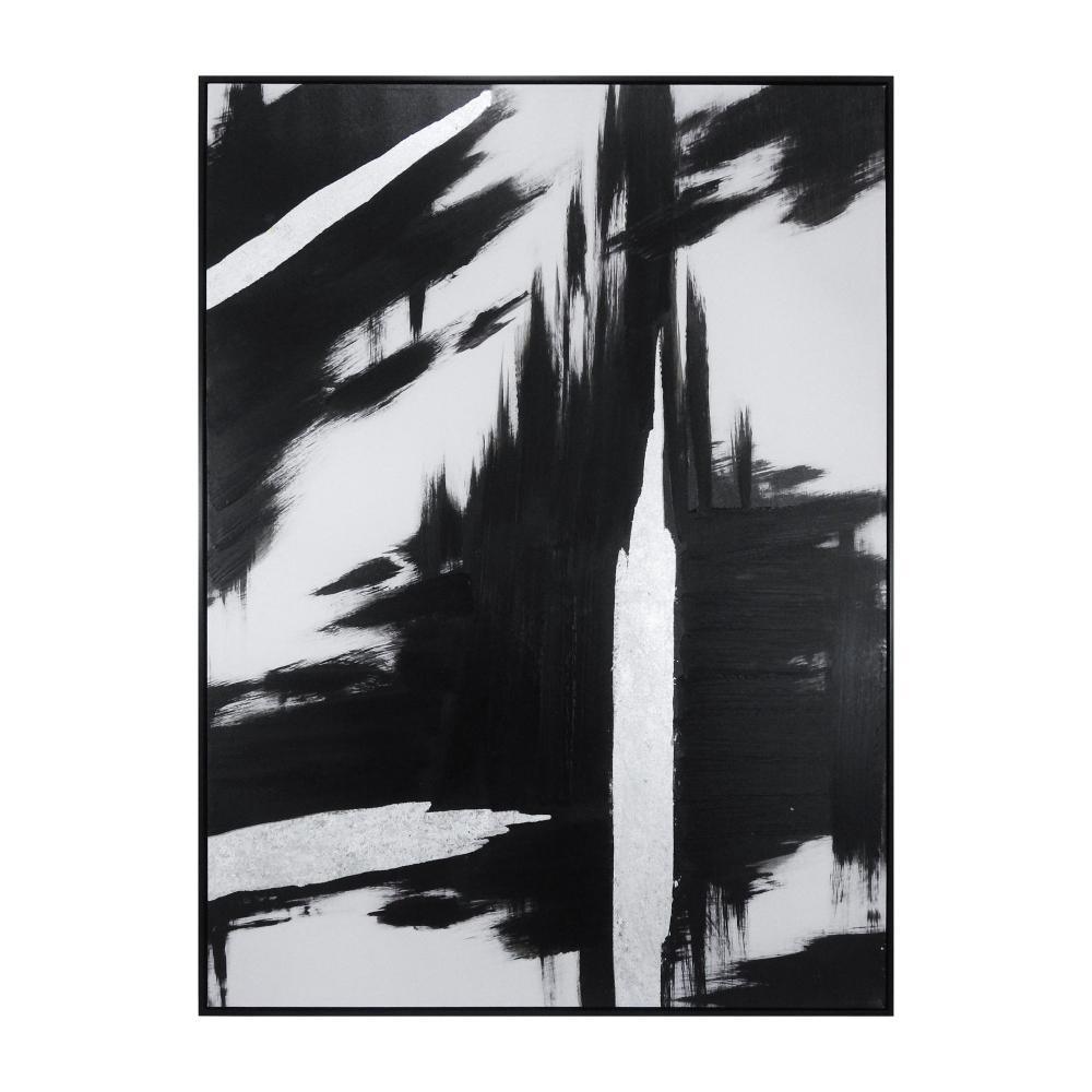 Quadro em Canvas Abstrato - 92x122cm