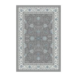 Tapete Persa Kashmar Cinza - 0,80x2,50cm