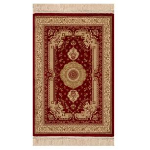 Tapete Persa Vermelho e Bege - 240x340cm