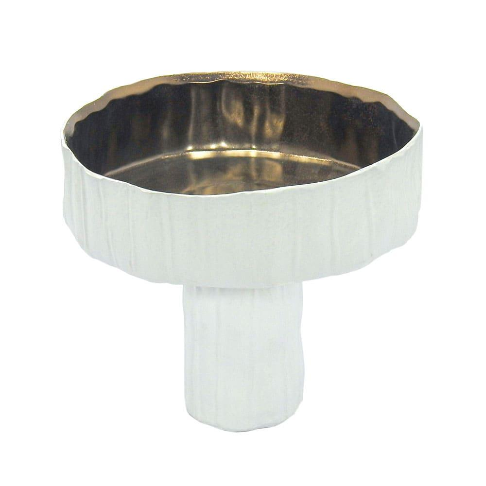 Vaso em Cerâmica Branca - 18x20cm
