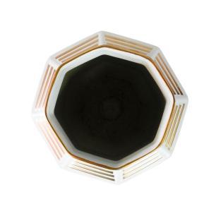 Vaso Decorativo em Porcelana na Cor Branca - 29x25cm