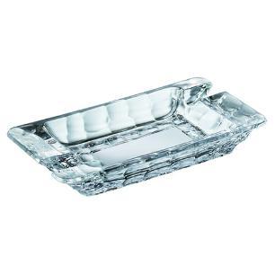 Cinzeiro Marble em Cristal Ecológico - 22,2x12,5x3,3cm