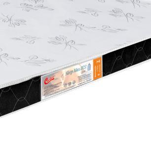 Colchão liso Casal Castor Espuma D23 Sleep Max 12 cm Black 128