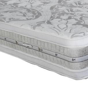 Colchão box Queen Size Castor Gold Star Pocket Latex Plush Double Face 158 x 188 x 36