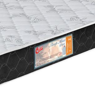 Colchão box Casal Castor Espuma D23 Sleep Max 18 cm Black 138
