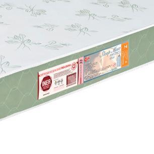 Colchão liso Casal Castor Espuma D33 Sleep Max 18cm Verde 138