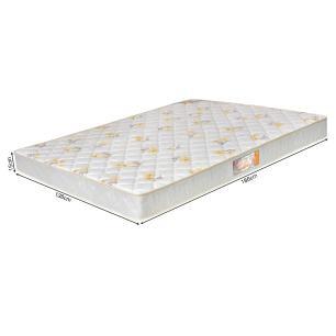 Colchão box Casal Castor Espuma D28 Sleep Max 15cm Florido 138
