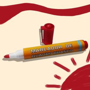 Cama infantil com lousa e canetinha para desenhar + colchão Lara Branco e Mel Solteiro