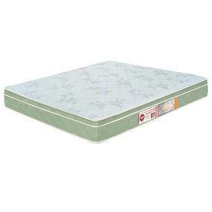 Colchão box Queen Size Castor Espuma D33 Sleep Max 25cm Verde