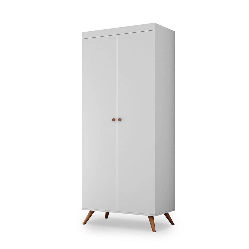 Sapateira Multiuso Prateleiras Deslizantes + Porta Objetos com Chave Potente Athenas Branco