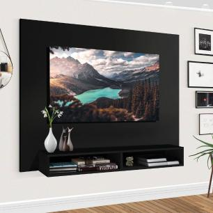 Painel Para TV 50 Polegadas Preto