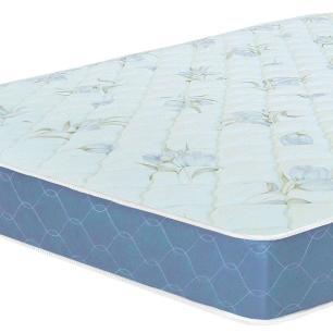 Colchão box Casal Castor Espuma D45 Sleep Max 18cm Azul 128