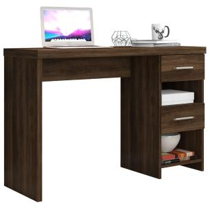 Escrivaninha Mesa Para Computador com Gavetas Duna New Capucino
