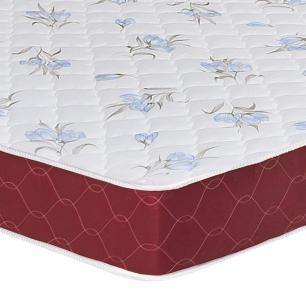 Colchão box Queen Size Castor Espuma D20 Sleep Max 18 cm Vinho