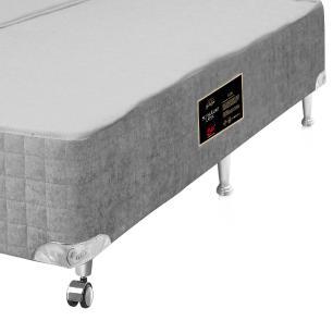 Cama box King Size para colchão Castor Gold Star Pocket Super Luxo Latex