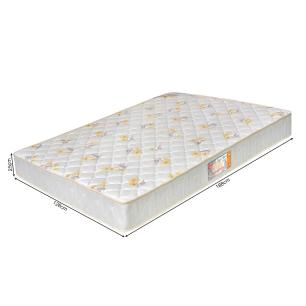 Colchão box Casal Castor Espuma D28 Sleep Max 25cm Florido 128