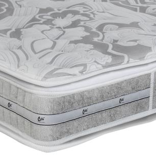 Colchão box King Size Castor Gold Star Pocket Latex Double Face 193 x 203 x 36