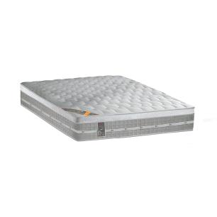 Colchão box King Size  Castor Premium Gel One face Prata 193 x 203 x 32