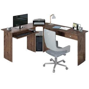 Escrivaninha Mesa Para Computador Home Office Tabaco Max
