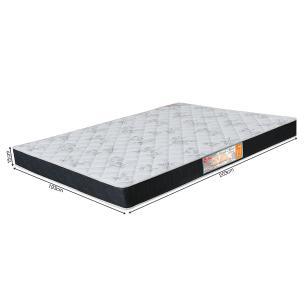 Colchão box King Size Castor Espuma D23 Sleep Max 15 cm Black