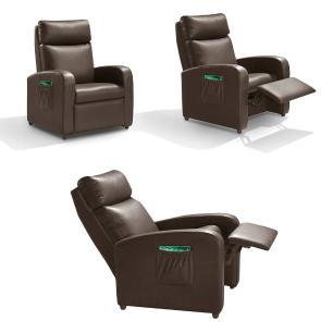Poltrona do papai retratil e reclinavel florença Marrom A43