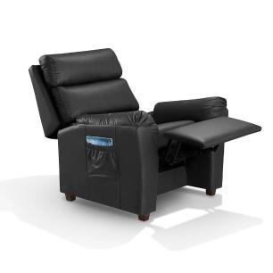 Poltrona do papai retratil e reclinavel atenas Preto A44