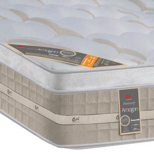 Colchão box Solteiro Castor Premium Amazon One face bege 88 x 188 x 32