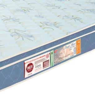Colchão box Queen Size Castor Espuma D45 Sleep Max 25cm Azul