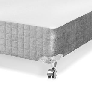 Cama box Casal para colchão Castor Gold Star Pocket Super Luxo Latex