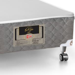 Cama box casal para colchão Castor Gold Star Light Stress double face 138 x 188 x 40