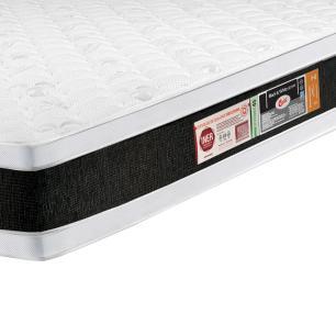 Colchão box Queen Size Castor Espuma D45 Black & White Air Double Face