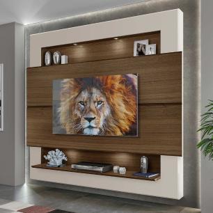 Painel Home com Led Suspenso para TV até 75