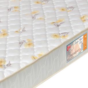 Colchão box Casal Castor Espuma D28 Sleep Max 25cm Florido 138