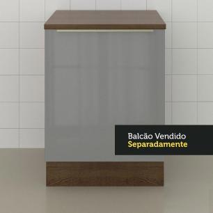 Tampo para Balcão Lux de 60 x 60 cm Madesa - Rustic