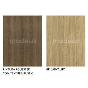 Balcão de Pia Madesa Agata 2 Portas - Rustic/Carvalho